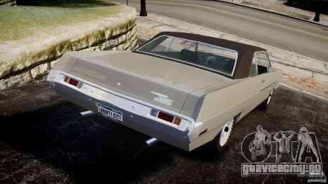 Plymouth Scamp 1971 для GTA 4 вид сзади слева