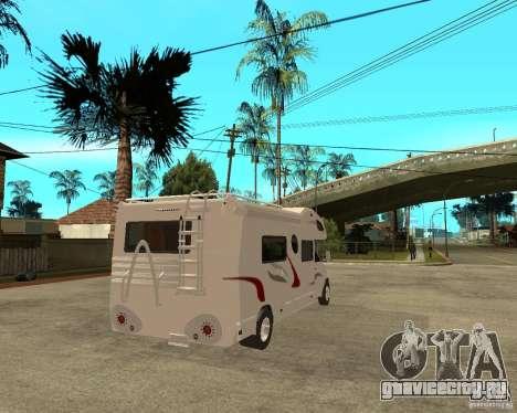 Chevrolet Camper для GTA San Andreas вид сзади слева
