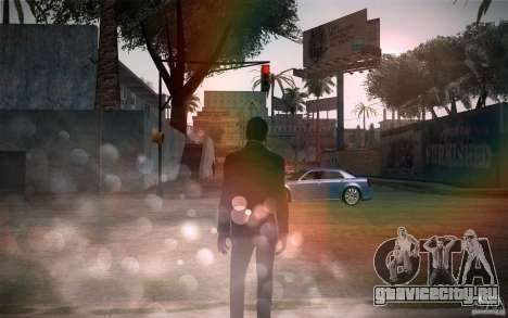 Lensflare v1.2 Final for SAMP для GTA San Andreas четвёртый скриншот