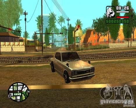 ENBSeries 2012 для GTA San Andreas третий скриншот