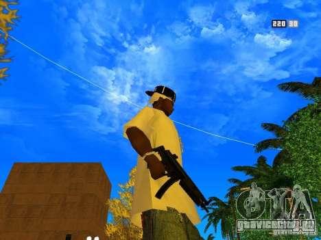 New Weapon Pack для GTA San Andreas девятый скриншот