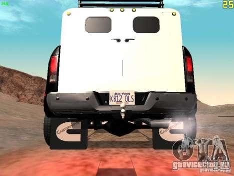 Dodge Ram 3500 Unmarked для GTA San Andreas вид справа