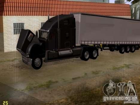 Freightliner Coronado для GTA San Andreas вид сбоку