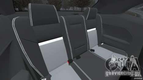 Dodge Challenger SRT8 2009 [EPM] для GTA 4 вид сбоку