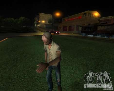 Оживлённый железнодорожный вокзал в Сан Фиерро для GTA San Andreas четвёртый скриншот