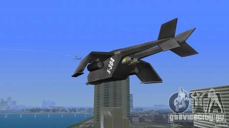 X-304 Gunship для GTA Vice City вид сзади слева