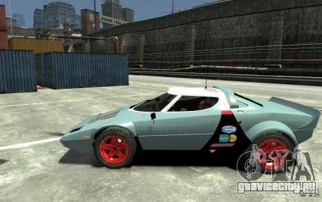 Lancia Stratos для GTA 4 вид слева