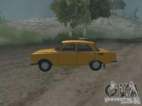 АЗЛК 2140 1981 для GTA San Andreas вид слева