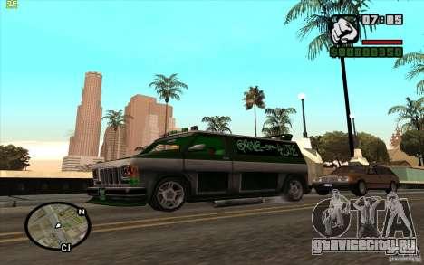 Grove Street Gang Burrito для GTA San Andreas