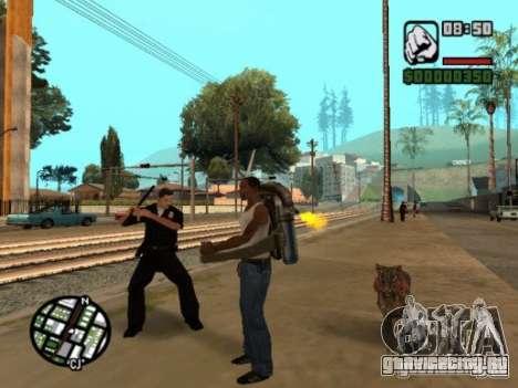 Animals in Los Santos для GTA San Andreas четвёртый скриншот