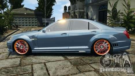 Mercedes-Benz S W221 Wald Black Bison Edition для GTA 4 вид слева