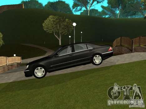 Mercedes-Benz S600 Biturbo 2003 v2 для GTA San Andreas