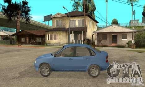 ВАЗ 1118 Калина для GTA San Andreas вид сбоку