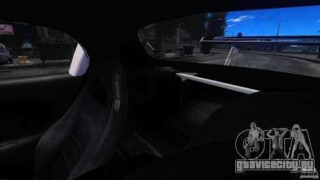 Mazda RX-7 FnF для GTA 4 вид изнутри