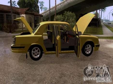 ГАЗ 31107 Волга для GTA San Andreas вид сбоку