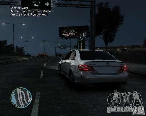 Mercedes Benz B63 S Brabus v1.0 для GTA 4 вид сзади слева