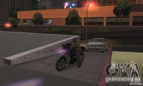 Пурпурный цвет фар для GTA San Andreas четвёртый скриншот