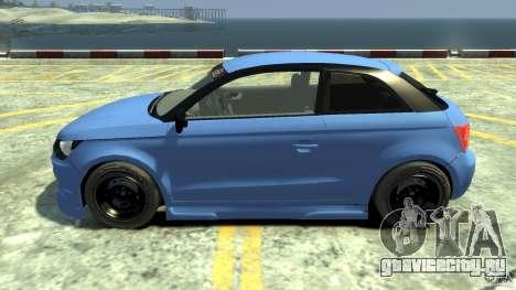 Audi A1 для GTA 4 вид слева
