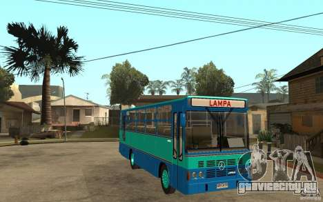 Thamco Aguia M.Benz OF1114 для GTA San Andreas вид сзади