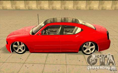 Dodge Charger RT 2010 для GTA San Andreas вид слева