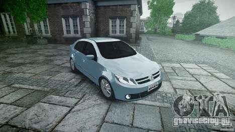 Volkswagen Voyage Comfortline для GTA 4 вид изнутри