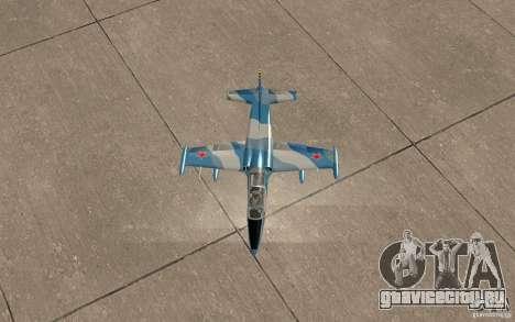 L-39 Albatross для GTA San Andreas вид сбоку