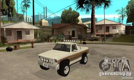 Ford Ranger для GTA San Andreas