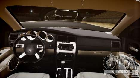 Dodge Charger RT Hemi 2007 Wh 1 для GTA 4 вид сверху