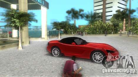 Dodge Viper SRT 10 Coupe для GTA Vice City вид справа