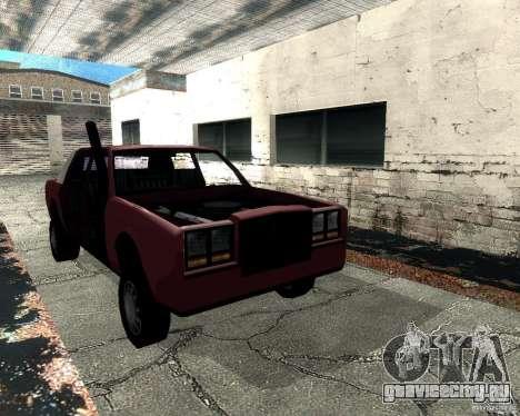 Derby Greenwood Killer для GTA San Andreas вид сзади