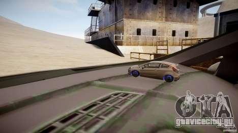 Ford Fiesta 2012 для GTA 4 вид сбоку