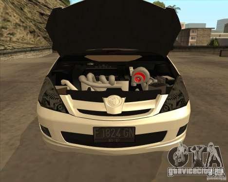 Toyota Innova для GTA San Andreas вид сверху