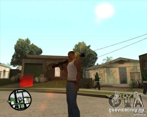 RiCkys Rocket Launcher для GTA San Andreas третий скриншот