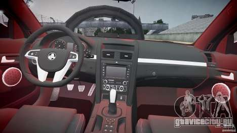 Holden Commodore (FBINOoSE) для GTA 4 вид сверху