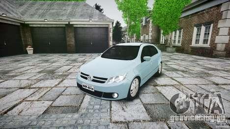 Volkswagen Voyage Comfortline для GTA 4