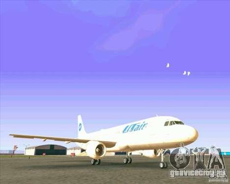 Airbus A-320 авиакомпании UTair для GTA San Andreas вид слева