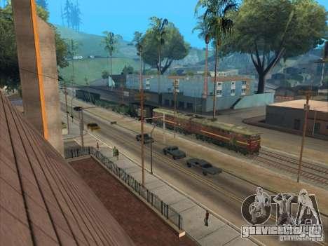2ТЭ10У-0211 для GTA San Andreas вид сбоку
