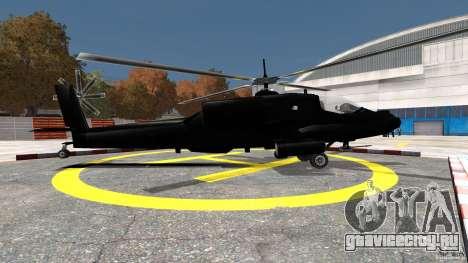 Hunter для GTA 4 вид слева