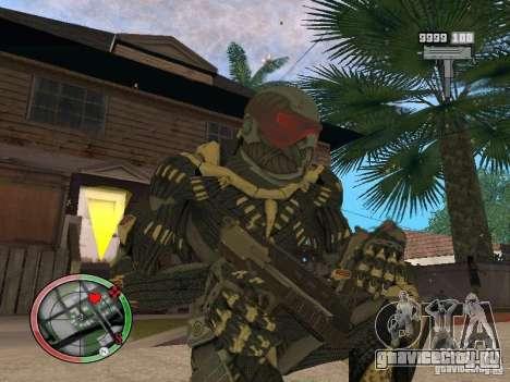 Сборник оружий Crysis 2 для GTA San Andreas десятый скриншот