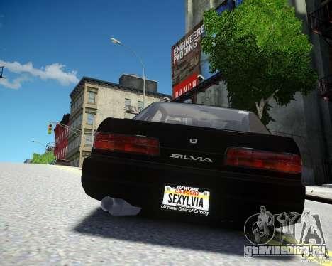 Nissan Silvia S13 для GTA 4 вид справа