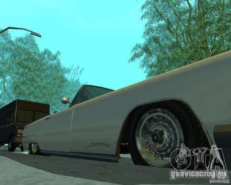 Peyote из GTA 4 для GTA San Andreas вид сзади