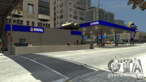 Statoil Petrol Station для GTA 4 третий скриншот