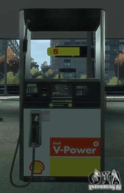 Shell Petrol Station V2 Updated для GTA 4 седьмой скриншот
