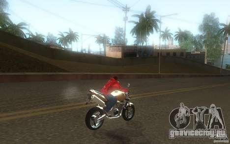 Honda CBF 600 Hornet для GTA San Andreas вид сзади