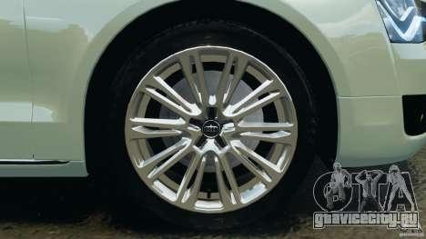 Audi A8 Limo v1.2 для GTA 4 салон
