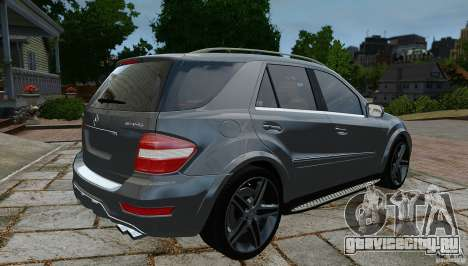 Mercedes-Benz ML63 AMG для GTA 4 вид слева