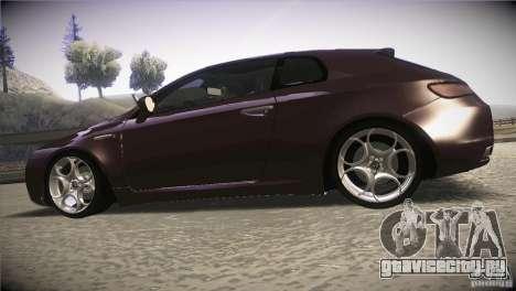 Alfa Romeo Brera Ti для GTA San Andreas вид слева