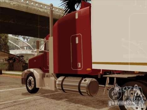 Peterbilt 377 для GTA San Andreas вид сзади