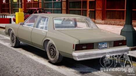 Chevrolet Impala 1983 [Final] для GTA 4 вид справа