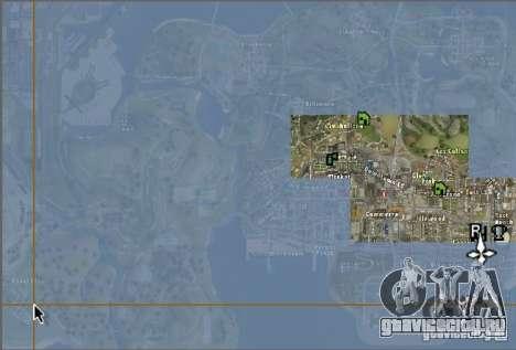 Новая карта и радар для GTA San Andreas второй скриншот